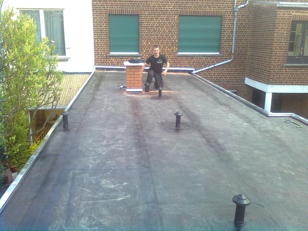 Toiture Plate Etanchéité Asphaltique Derbigum Roofing